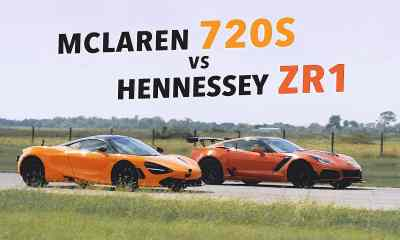 Hennessey-Corvette ZR1-McLaren 720S