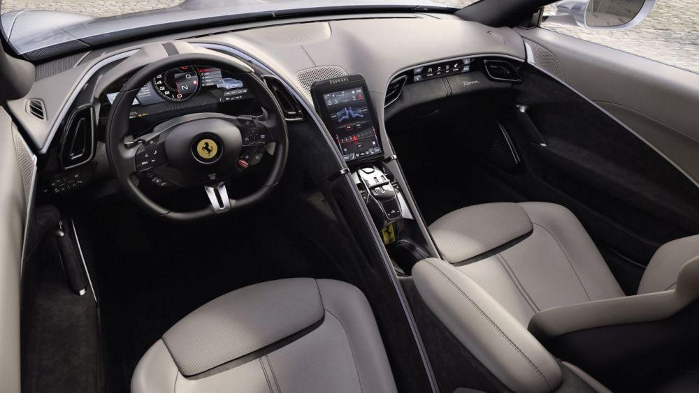 2020 Ferrari Roma-interior-1