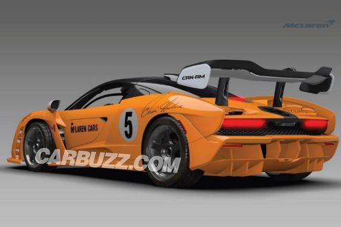 McLaren Senna Can-Am-LM-GTR-3