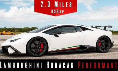 Supercharged Lamborghini Huracan Performante-Top Speed