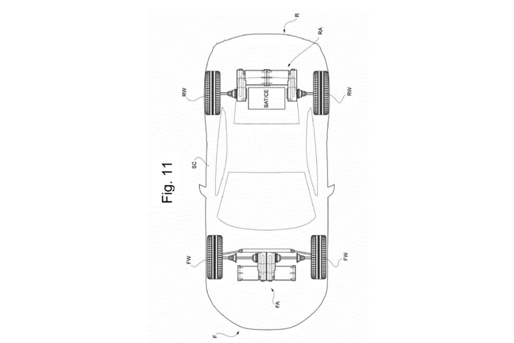 Ferrari Electric Supercar-Patent-3