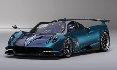 Pagani Huayra BC Roadster-Blue Carbon