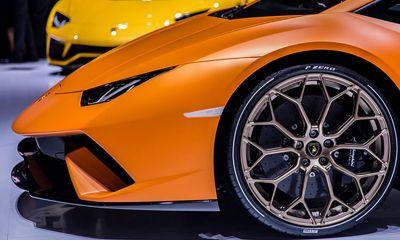 Lamborghini Huracan Pirelli tires