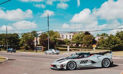 LaFerrari FXX-K EVO-driving on the streets-1