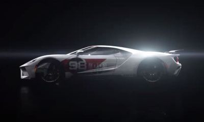 2021 Ford GT Heritage Edition teaser