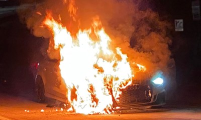 Audi RS3-Fire-Denver-Street-Racing-1320videos