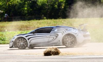 Bugatti Veyron Grand Sport-Crash-Switzerland