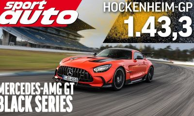 Mercedes-AMG GT Black Series Hockenheim lap time