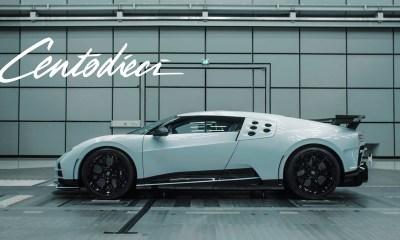 Bugatti Centodieci Wind Tunnel