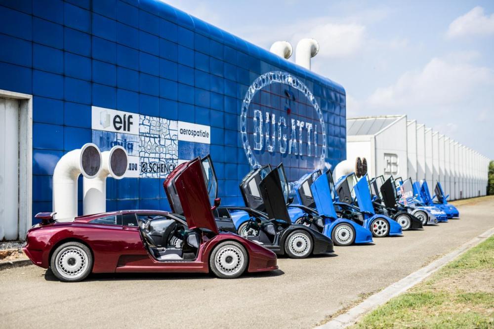 Bugatti EB110 Rosso Scuro-30th anniversary-1