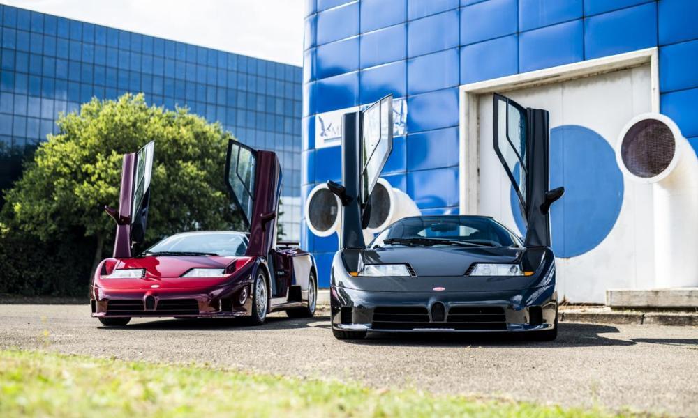Bugatti EB110 Rosso Scuro-30th anniversary-3