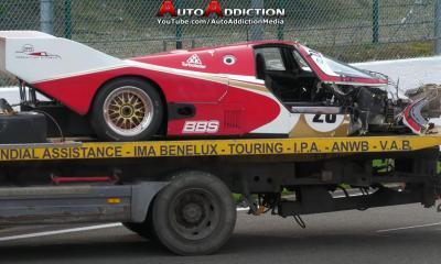 Porsche 962C-Crash-Spa Francorchamps