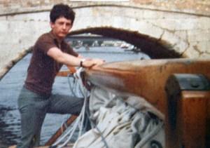 Cap'n Jon on the Norfolk Broads c.1980