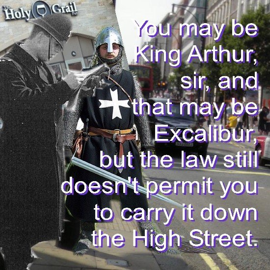 King Arthur's most ignominious moment