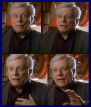 Not Dr Johnson but Harlan Ellison in full flow