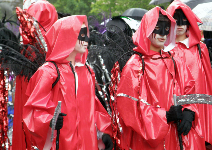 Hammarkullen Carnival: Not-so-grim reapers