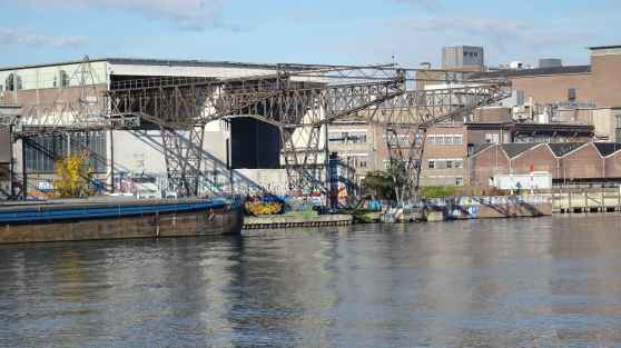 Maastricht: Disused docks on the Meuse, Beisenwal, Maastricht