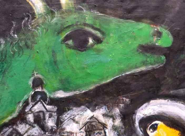 Green Monster (detail)