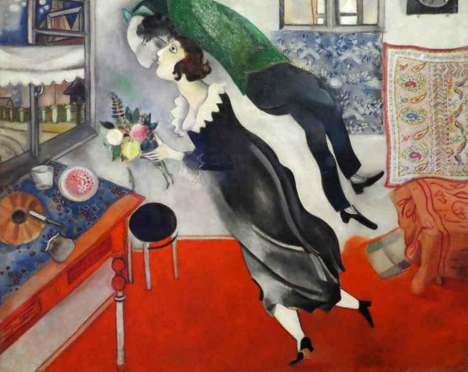 Chagall: Birthday