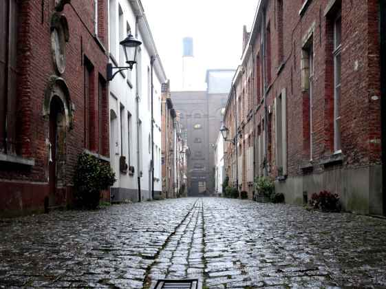 Mechelen, the Large Beguinage - the Anchor brewery