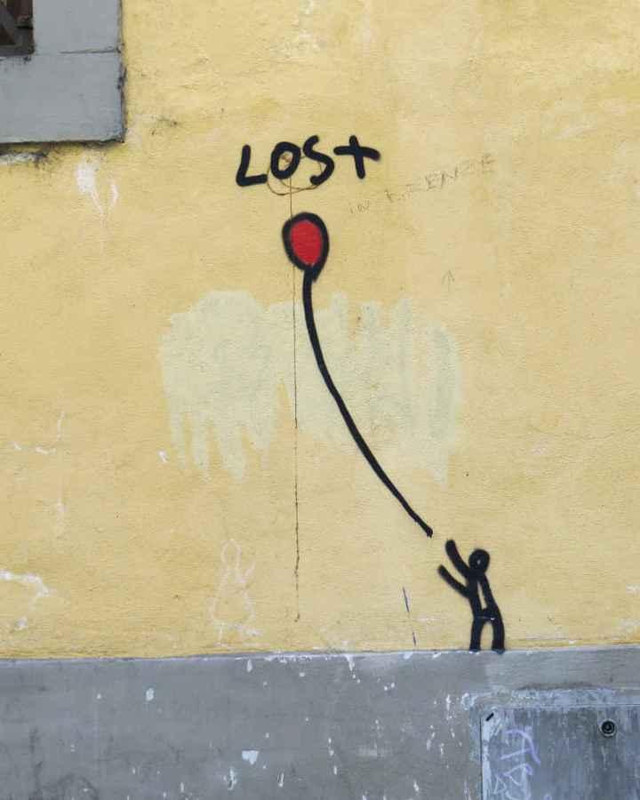 Graffiti Florence - Lost
