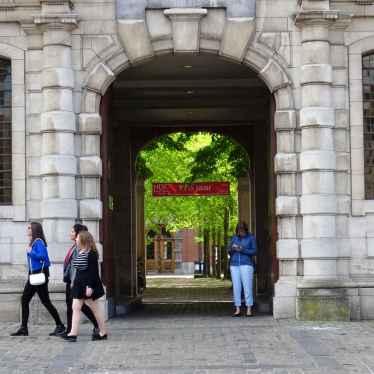 40 Leuven University doorway