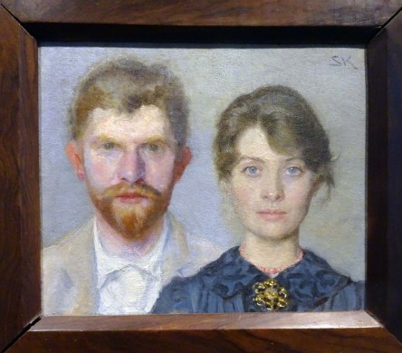 Double portrait of the Kröyers PS and Marie