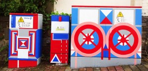 Utility boxes: The Geometric Abstractionist 5