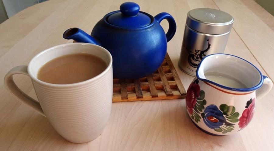 Nice cup: A nice mug of tea