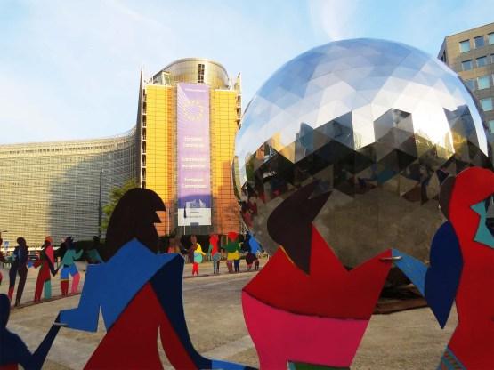Schuman Roundabout sculpture