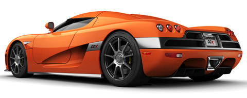 Orange Koenigsegg CCX