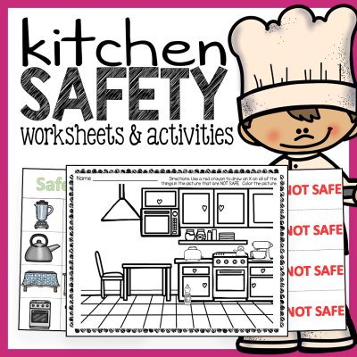 Cooking Worksheets For Kindergarten