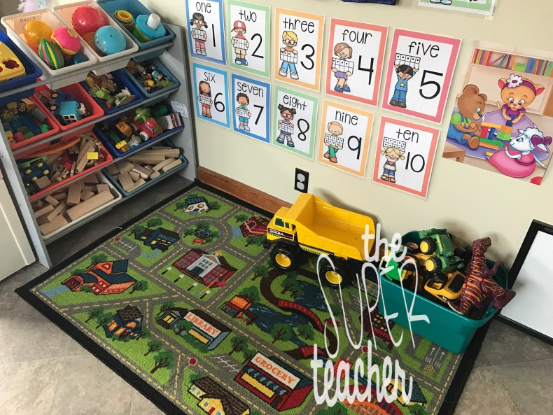 3 Easy Rules That Will Keep Your Daycare Space Organized