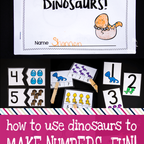 How to Use Dinosaurs to Make Numbers Really Fun!