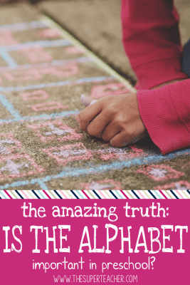 The Amazing Truth: Is the Alphabet Important in Preschool?