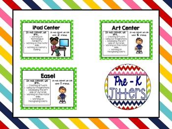 Preschool Center Labels