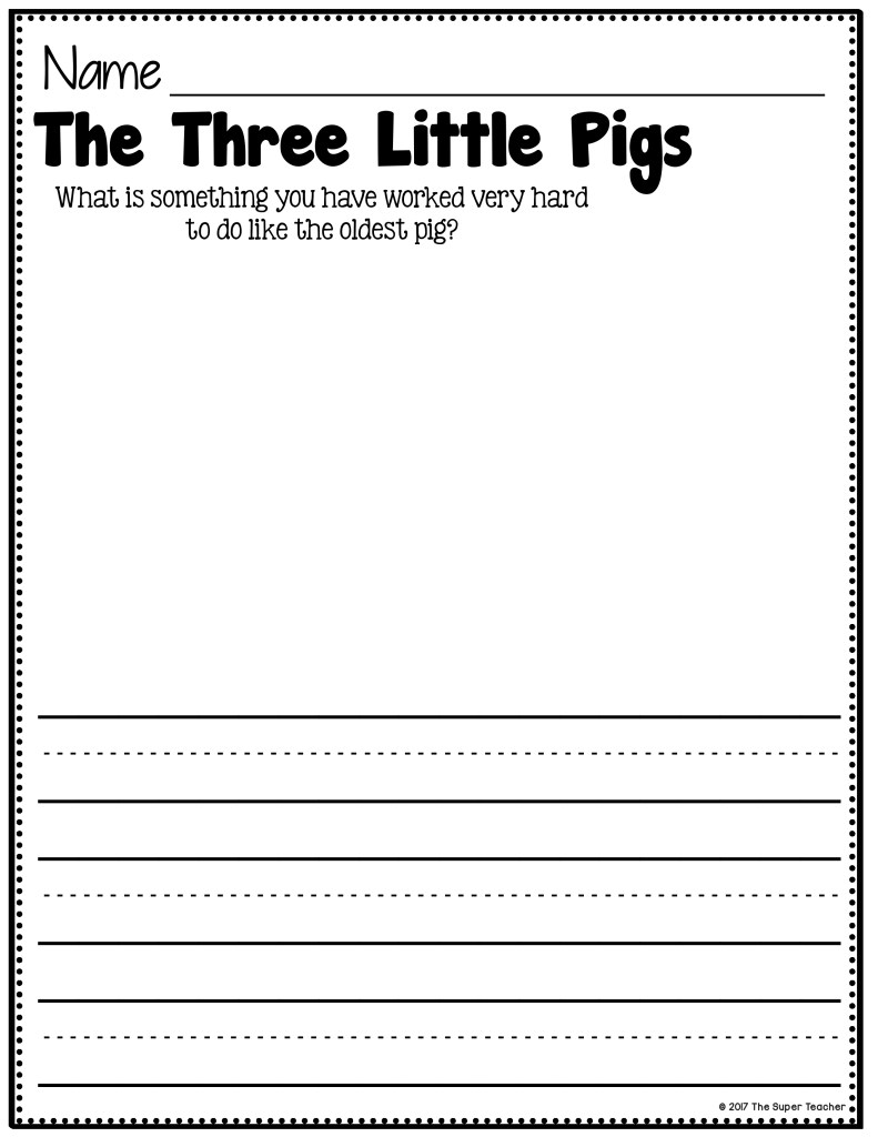 Simple Story Elements Made Practical and Fun! The Three Little Pigs