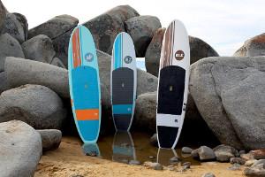3 Isle Versa epoxy paddleboards