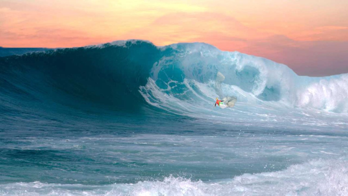 Monsters The Surfer
