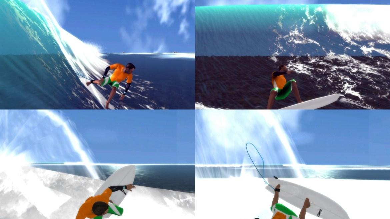 The Surfer PS3 - backside flow
