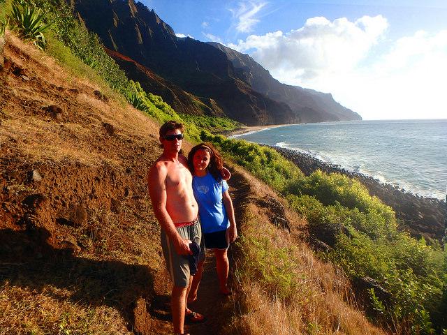 surfers kitchen, na pali coast, kauai