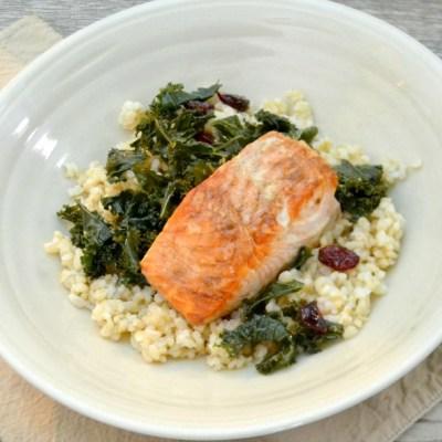 Easiest Pan Roasted Salmon