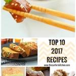 Top 10 Recipes in 2017