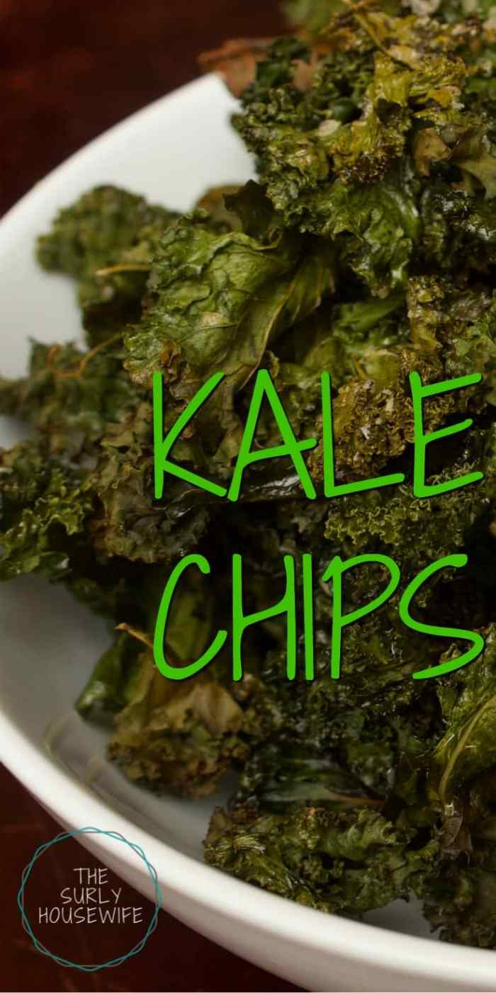 Kale chips are a quick and delicious snack to make for munching or packing in a lunch. This baked kale chips recipe is so easy, even the kids can help.
