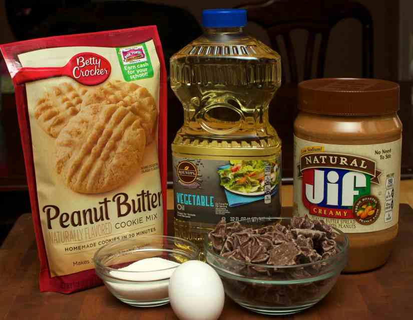 peanut butter star ingredients