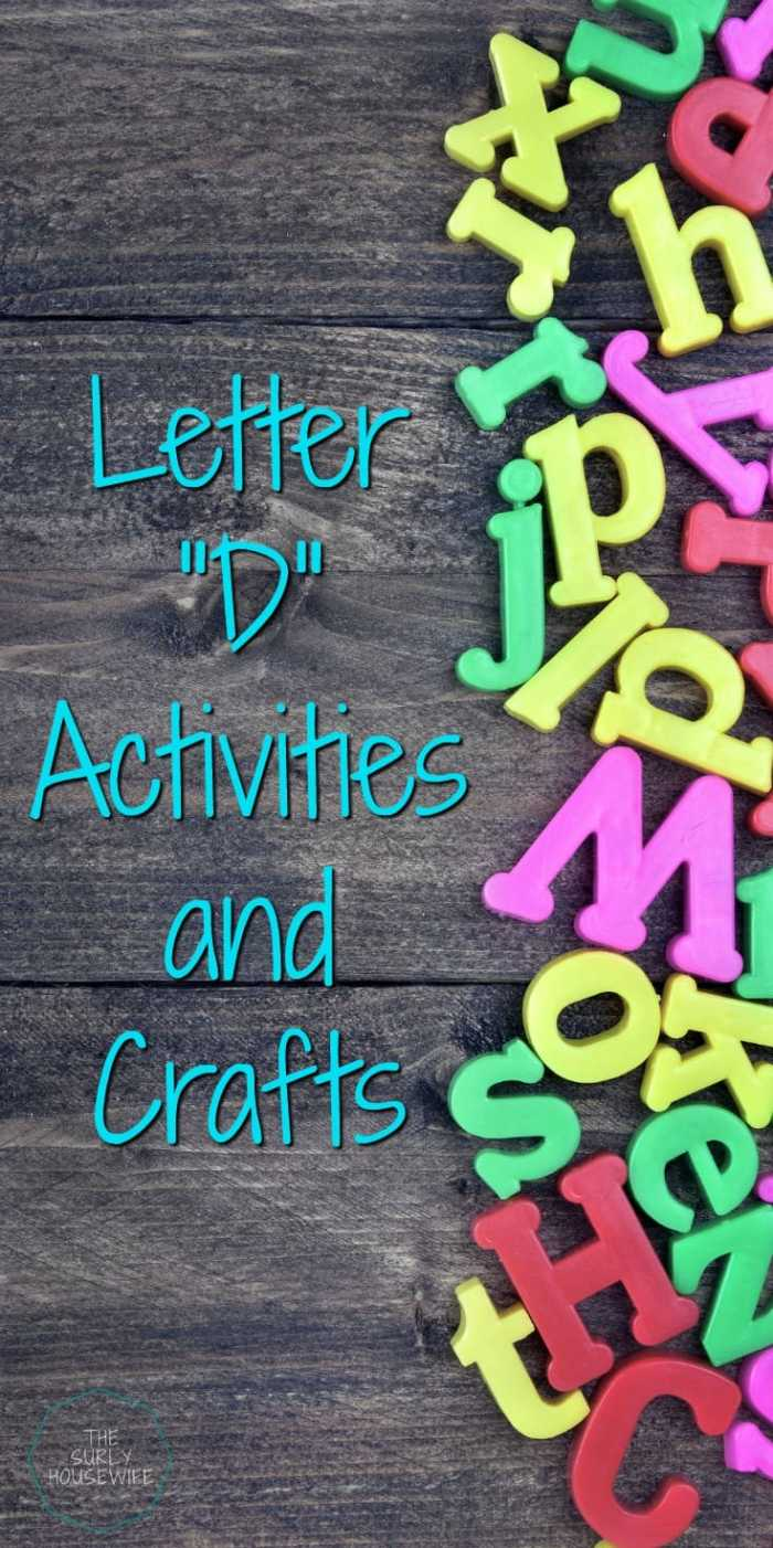 Letter of the Week preschool activities and crafts are a fun and hands-on way for toddlers, preschoolers, and kindergartens to learn and practice the alphabet. Looking for Letter D ideas for your preschool. This post has Doc McStuffins printables, iPad app suggestions, and a fun hidden letter activity. Check it out!