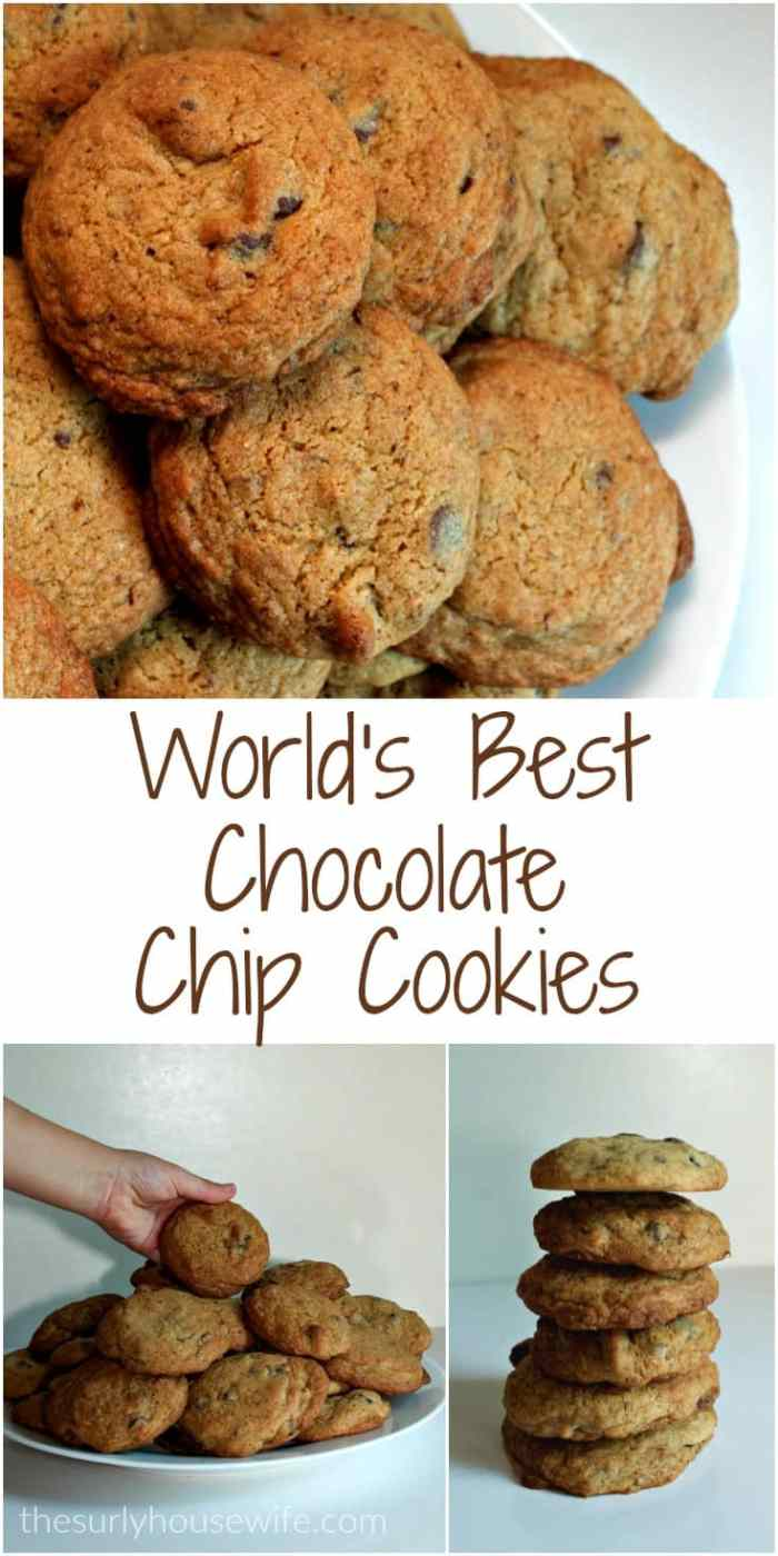 The best chocolate chip cookies ever are only a click away! This easy recipe will have any and all who eat these cookies clamoring for the recipe. Making chocolate chip cookies from scratch has never been easier. Click here for the recipe!