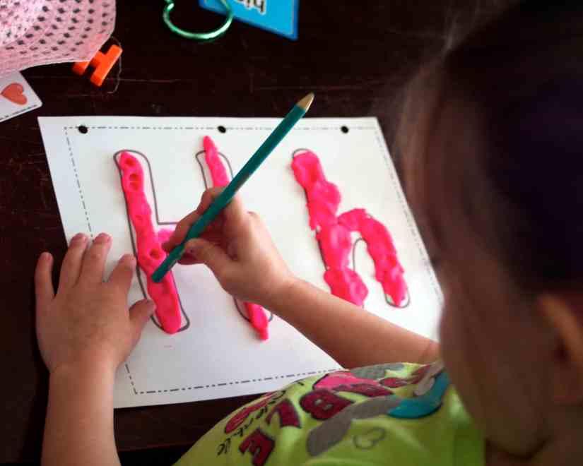 Letter H crafts for preschool