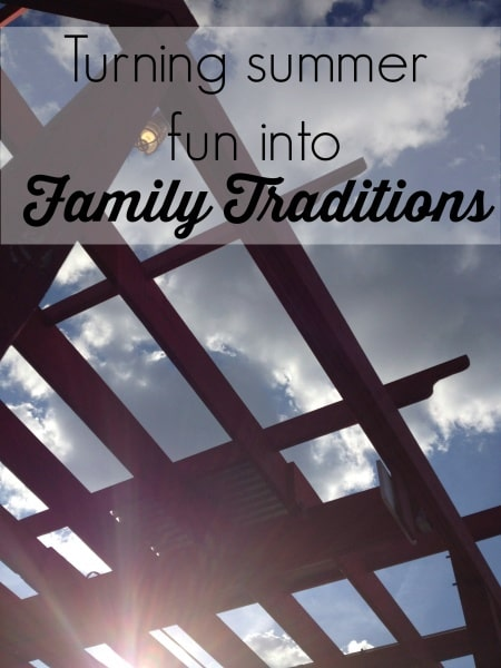 Summer is a time for fun and a time for family. We turn our summer fun into family traditions. Click here to see our summer bucket list!