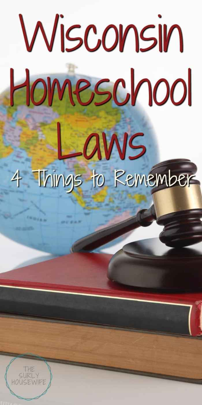 The first step to homeschooling is finding out the laws and regulations in your state. Curious about Wisconsin homeschool laws? Click here to find out more!